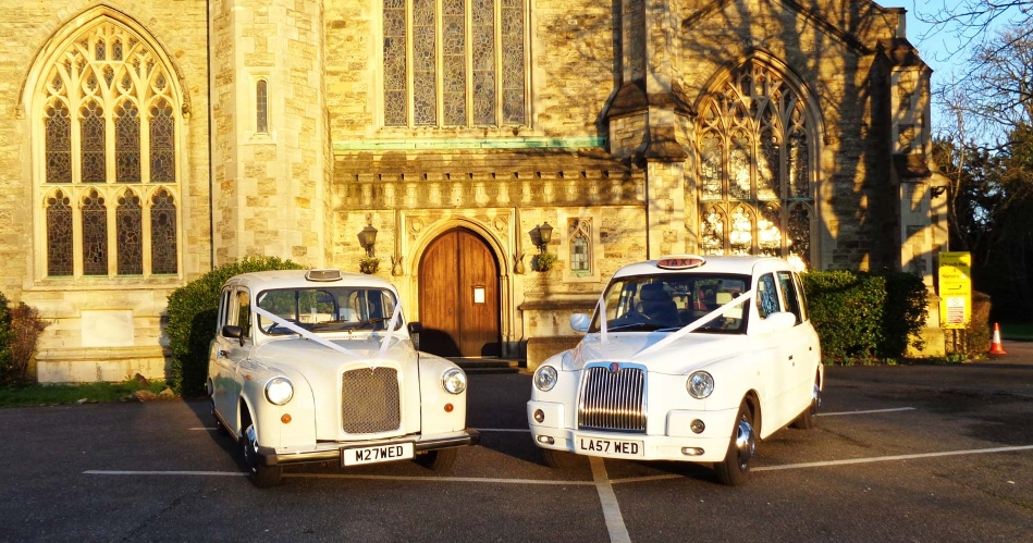 Image 2: White Wedding Taxi Hire