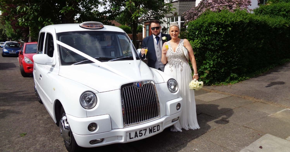 Image 3: White Wedding Taxi Hire