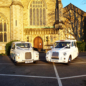 White Wedding Taxi Hire