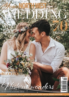 Cover of Your North West Wedding, October/November 2021 issue
