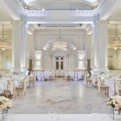 Andaz London Liverpool Street's 1091 Ballroom is awarded best wedding venue at the London venue awards