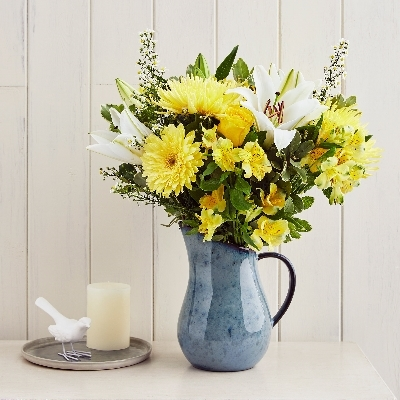 Check out this mood boosting bouquet to cure the winter blues