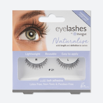 Bride-beautiful lashes and nails from Invogue