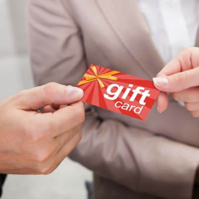 Gift cards UK's most popular gift during lockdown