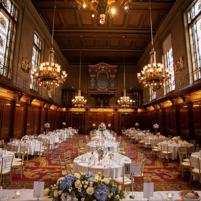 Looking for a historic wedding venue in London? We love Merchant Taylors' Hall