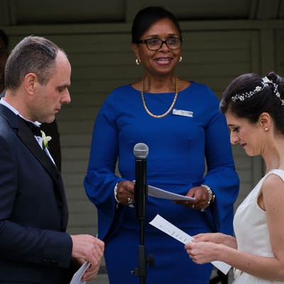 Jennifer Patrice Celebrant helps make your intimate wedding even more special