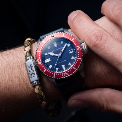 New watches from Spinnaker and Timex