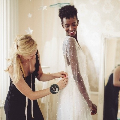 Postponing your wedding? Lace and Button suggest how to alter your dress for a different season...