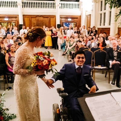 Moments of joy at The Old Finsbury Town Hall