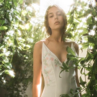 We adore the new Kerala Collection from bridal designer Olwen Bourke