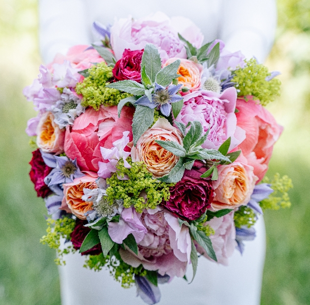 Ready to wear bouquet styled by London florist Wild at Heart