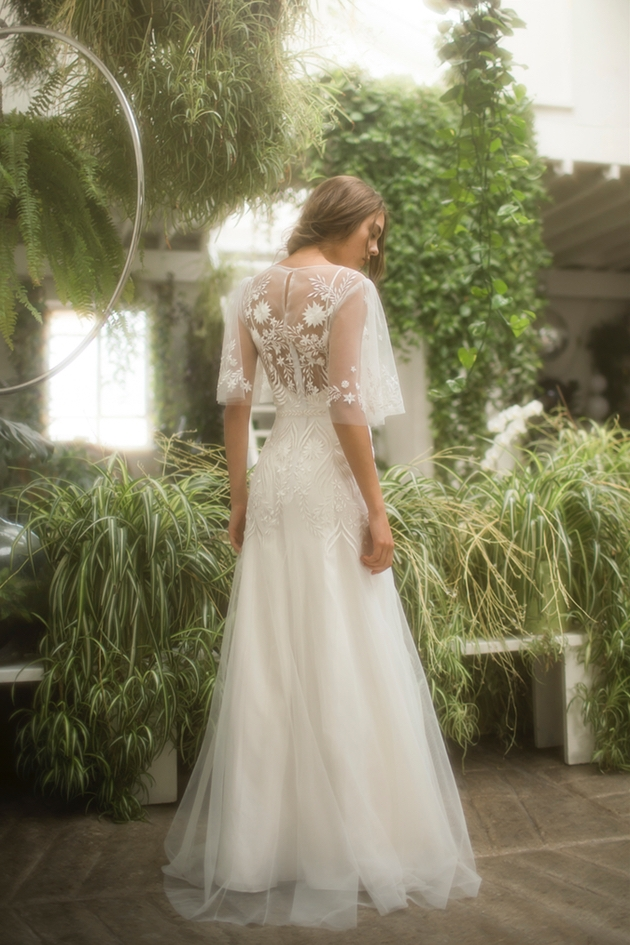 Eva wedding dress from the Kerala Collection from bridal designer Olwen Bourke